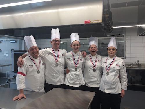 Members of the A-B Tech culinary team