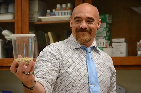 Joe Felts teaches biology at Davidson County Community College
