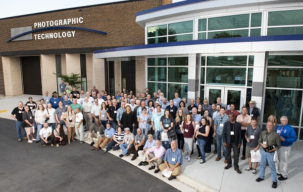 Attendees at Randolph Community College's photography homecoming