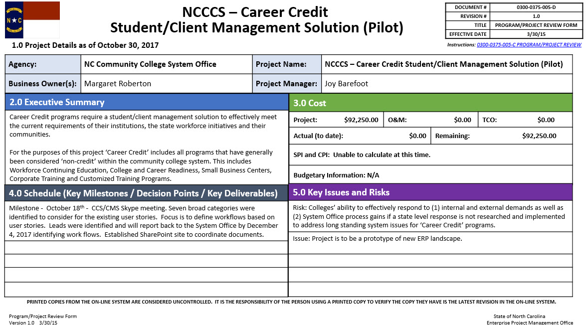 Career Credit Student/Client Management Solution (Pilot) image