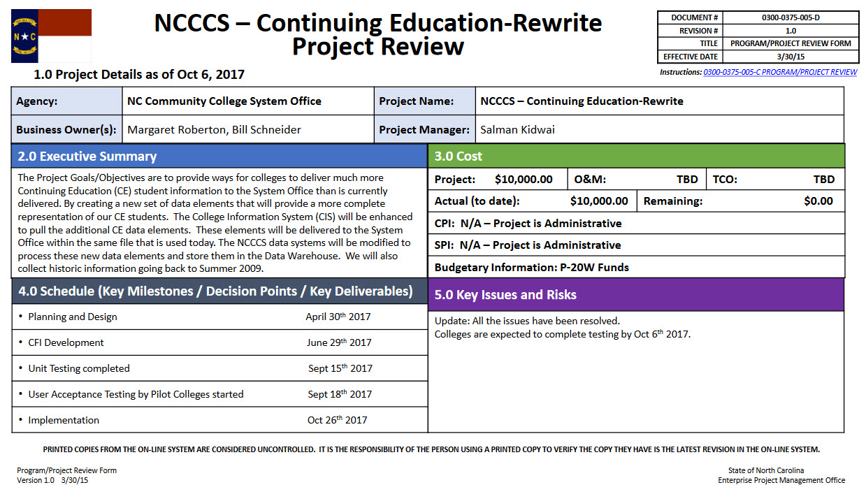 Continuting education rewrite project image