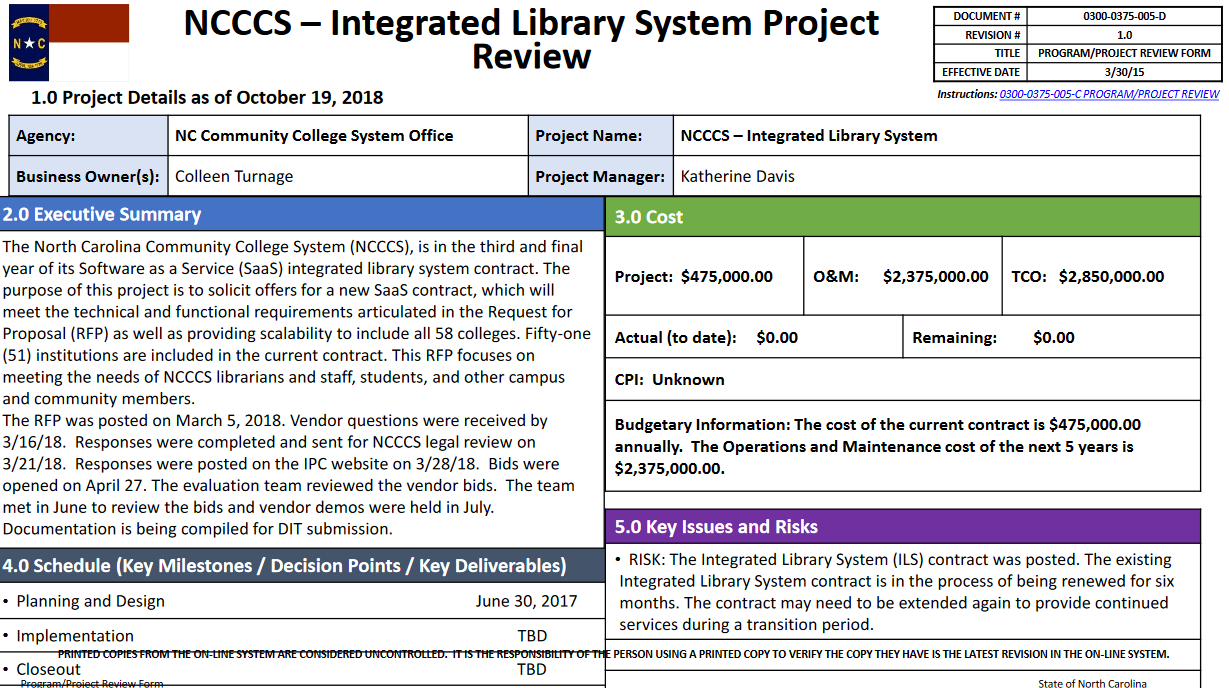 Intergrated library system project update image