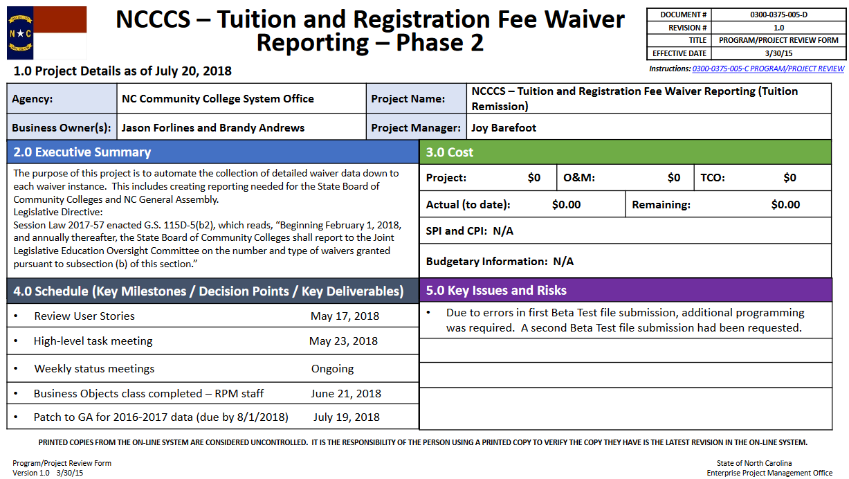 Tuition and Registration Fee Waiver Phase 2 Image