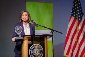 Jennifer Haygood at Higher Ed Forum