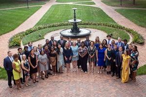 Student Leadership Development Program participants and staff