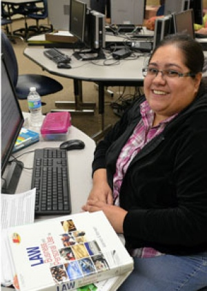 Amanda Guevara, Isothermal Community College, 2015 Academic Excellence Award Recipient