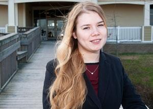 Anastasia Izvekova, College of The Albemarle, 2015 Academic Excellence Award Recipient