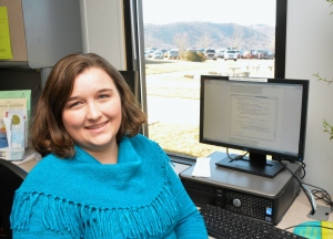 Caldwell CC&I 2016 Academic Excellence Award recipient Callie Tester