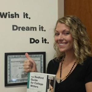 Gaston College 2016 Academic Excellence Award recipient Samantha Jo Christopher