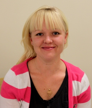 Holly Blackman, Tri-County Community College, Excellence Award 2013