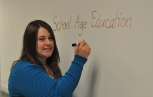 Ashley Rabon, James Sprunt Community College, Excellence Award 2012