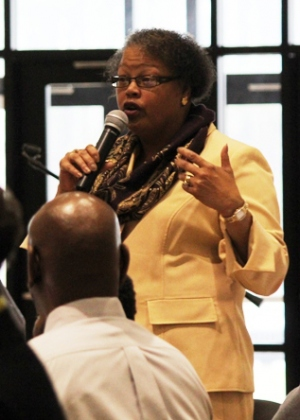 Dr. Adriane Leché, 2015 Staff of the Year Award Recipient