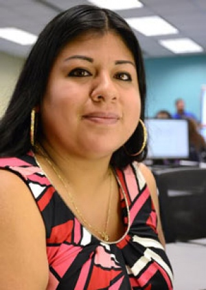 Lilia Martinez, Nash Community College, 2015 Academic Excellence Award Recipient