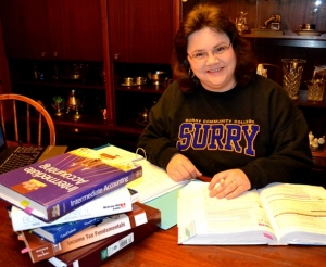 Michelle Goble, Surry Community College, Excellence Award 2014