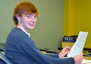 Mitchell Cleary, Davidson County Community College, 2015 Academic Excellence Award Recipient