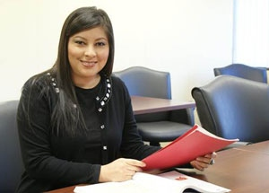 Paula Alanis, South Piedmont Community College, 2015 Academic Excellence Award Recipient