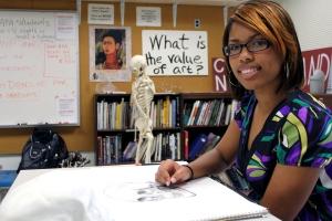 Rochelle Nicole McCain, Rockingham Community College, Excellence Award 2012