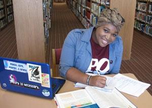 Shanita Jackson, Blue Ridge Community College, 2015 Academic Excellence Award Recipient
