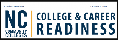 NCCCS College and Career Readiness Logo October 1 October Newsletter