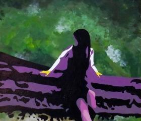 Solitude, Alaina Angulo, Student Gaston College