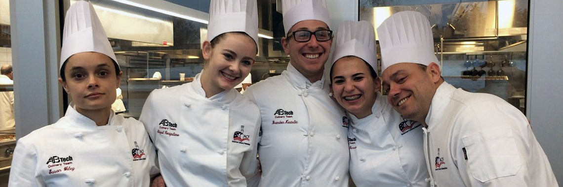 Members of the A-B Tech culinary team