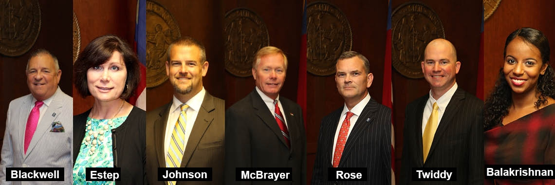 State Board Welcomes Six New Members & Ex-Officio Member