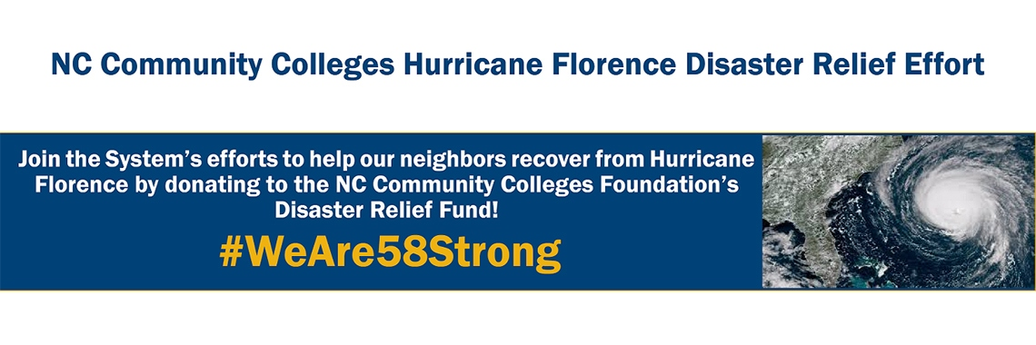Hurricane Florence relief effort graphic