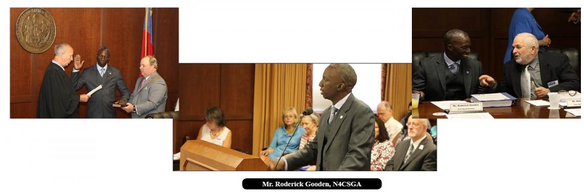 N4CSGA President Roderick Gooden