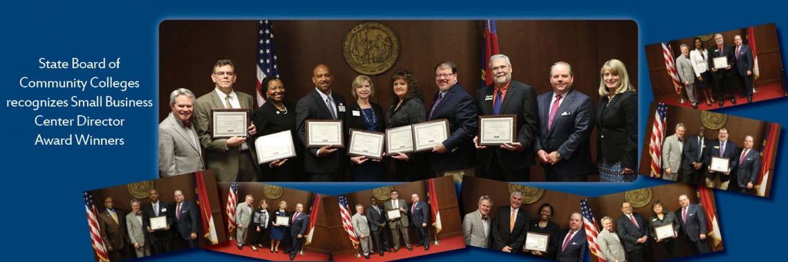 Small Business Center Director Award Winners