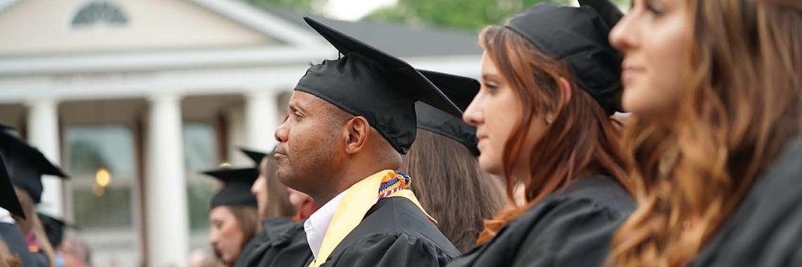 Image of community college graduation ceremony