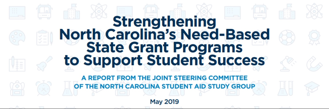 Cover of report on student aid