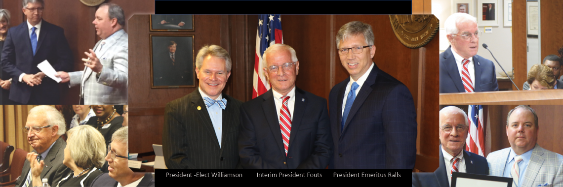 System Presidents Williamson, Fouts, Ralls