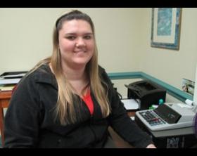 Holly Davis, Martin Community College, 2015 Academic Excellence Award Recipient