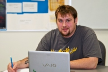 Andrew Marshall, Asheville-Buncombe Technical Community College, Excellence Award 2013