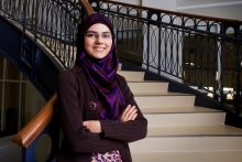 Anza Abbas, Central Piedmont Community College, Excellence Award 2014
