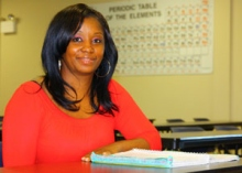 Chanda Sherrill, Catawba Valley Community College, 2015 Academic Excellence Award Recipient