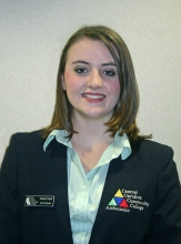 Jessica Cooper, Central Carolina Community College, Excellence Award 2012