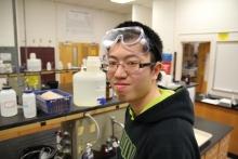 Durham Technical CC 2016 Academic Excellence Award recipient Yiu San Tung