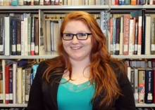 Kayla Wolverton, Roanoke-Chowan Community College, 2015 Academic Excellence Award Recipient