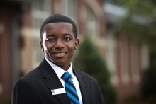 LaQuon Rogers, Pitt Community College, Excellence Award 2014