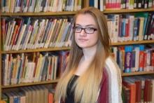 Vance-Granville CC Academic Excellence Award recipient Elizabeth Caulfield